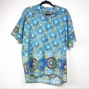 Mens Pineapple  Connection Oversized Shirt…